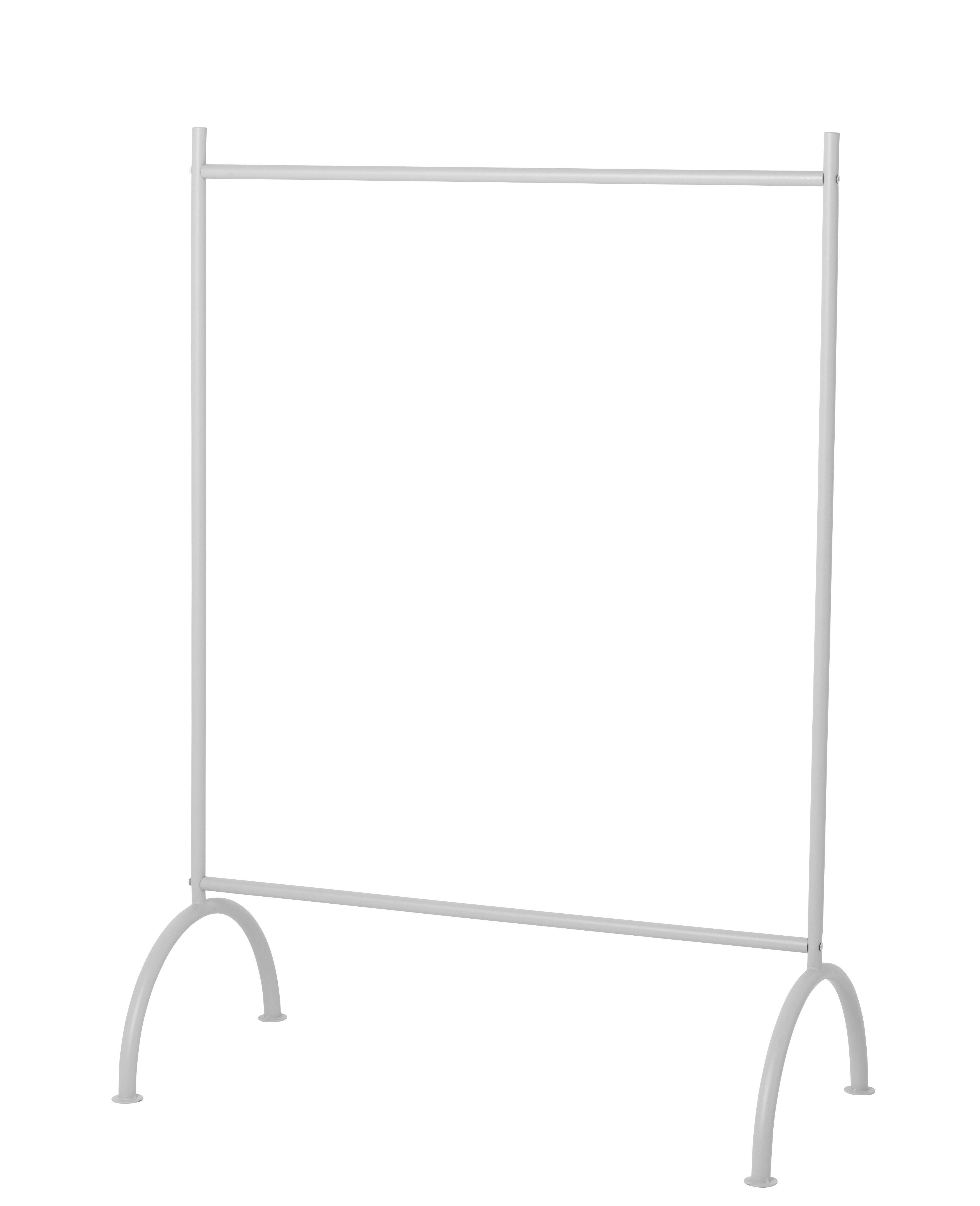 Furniture - Kids Furniture - Kids Rack - / L 88 x H 122,5 cm by Ferm Living - Gris - Brass, Metal