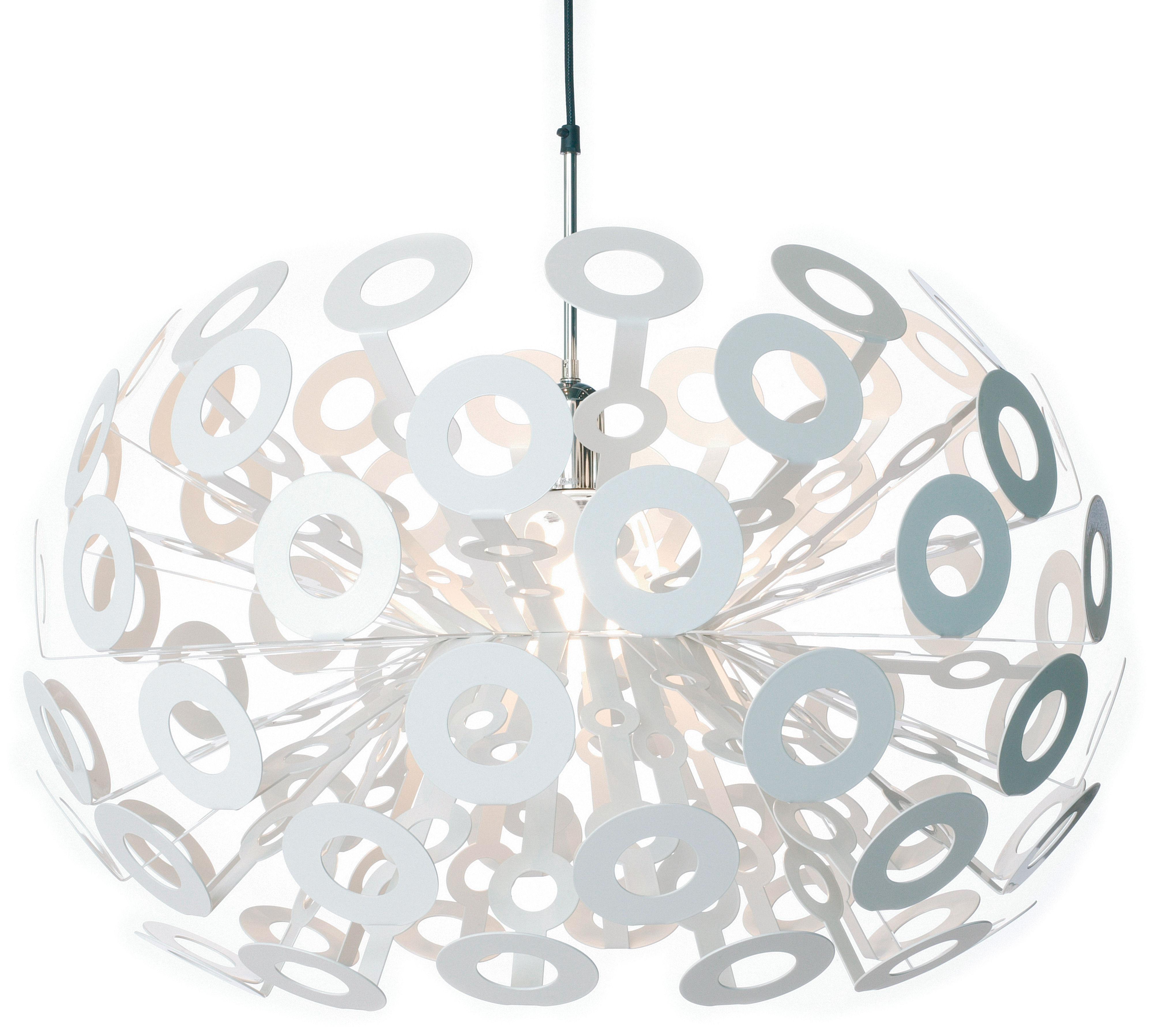 Illuminazione - Lampadari - Sospensione Dandelion di Moooi - Blanc - Acciaio verniciato