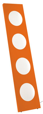 Dolmen Stehleuchte LED / L 40 cm x H 180 cm - Foscarini - Orange
