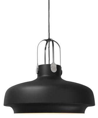 Luminaire - Suspensions - Suspension Copenhague SC8 / Ø 60 cm - Métal - &tradition - Noir - Métal laqué