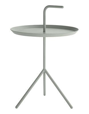 Mobilier - Tables basses - Table basse Don't leave Me / Ø 38 x H 44 cm - Hay - Vert menthe - Acier laqué
