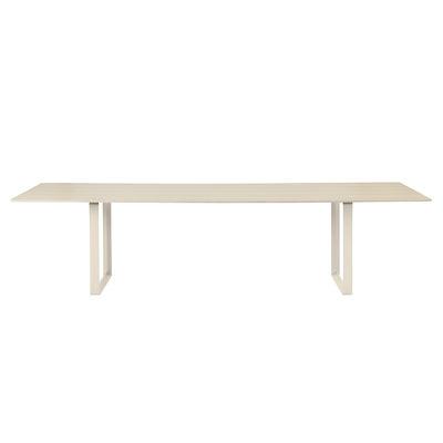 Table rectangulaire 70-70 XXL / 295 x 108 cm - Chêne massif - Muuto bois naturel en bois