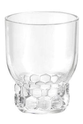 Arts de la table - Verres  - Verre Jellies Family / Small - H 11 cm - Kartell - Cristal - PMMA
