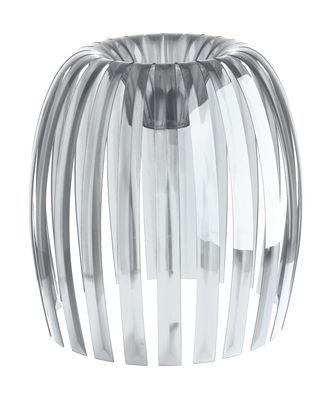 Abat-jour Josephine XL / Ø 50 x H 47,5 cm - Koziol transparent en matière plastique