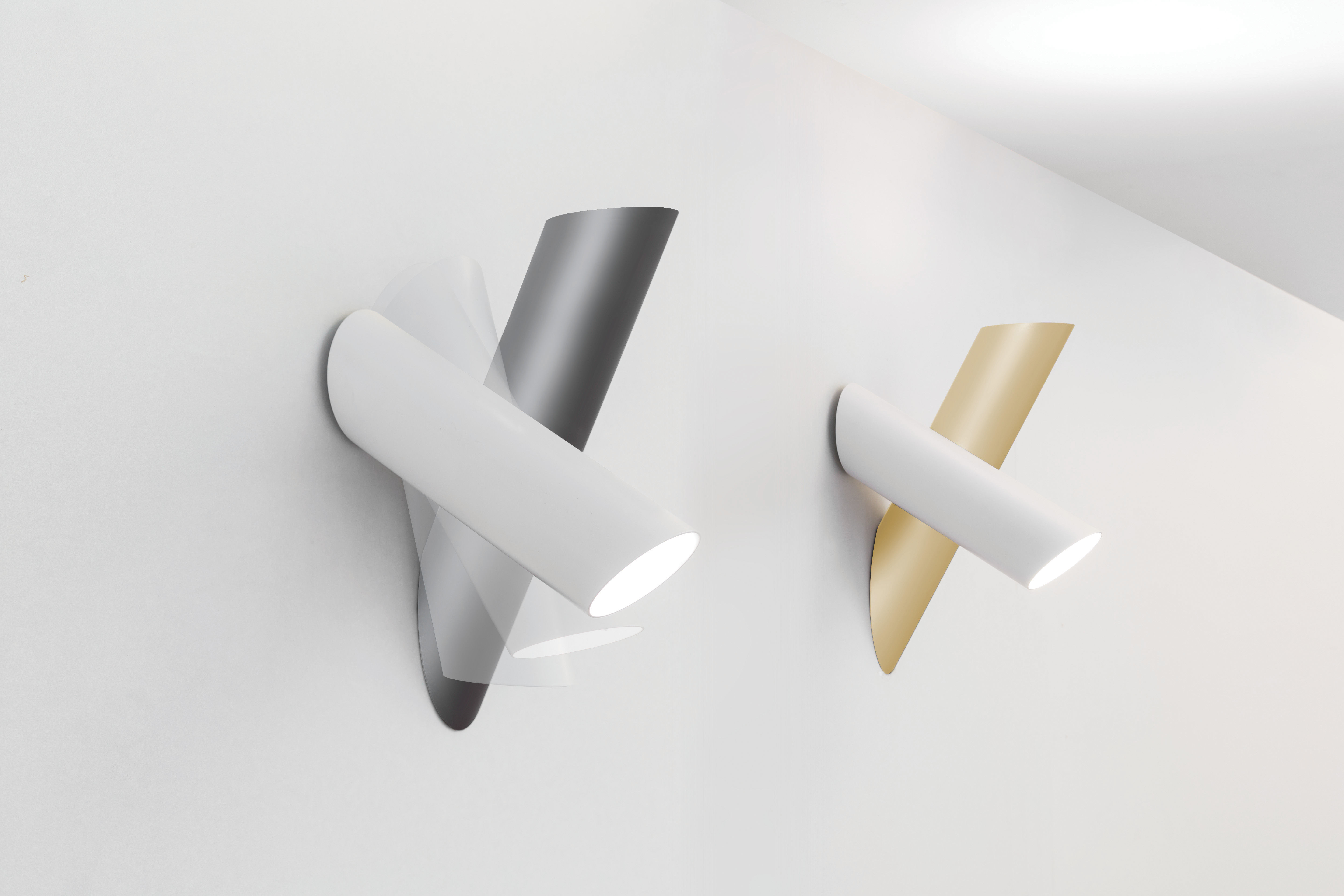 Tubes applique led orientabile by nemo made in design