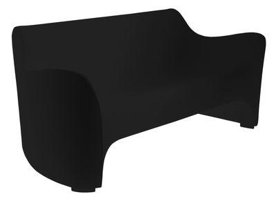 Canapé droit Tokyo Pop / L 177 cm - Driade noir en matière plastique