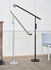 Fifty-Fifty Floor lamp - / Orientable - H 135 cm by Hay