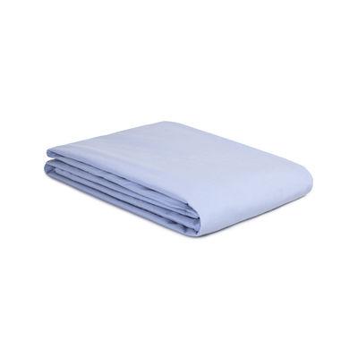 Déco - Textile - Housse de couette 200 x 200 cm / Percale lavée - Au Printemps Paris - 200 x 200 cm / Bleu ciel - Percale de coton lavée