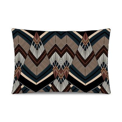 Dekoration - Kissen - Batik Kissen / 45 x 45 cm - Velours - PÔDEVACHE - Ethnisch / Mehrfarbig - Polyesterfaser, Velours