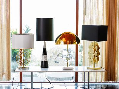 Lampada Da Tavolo Globo Di Jonathan Adler Oro Made In Design
