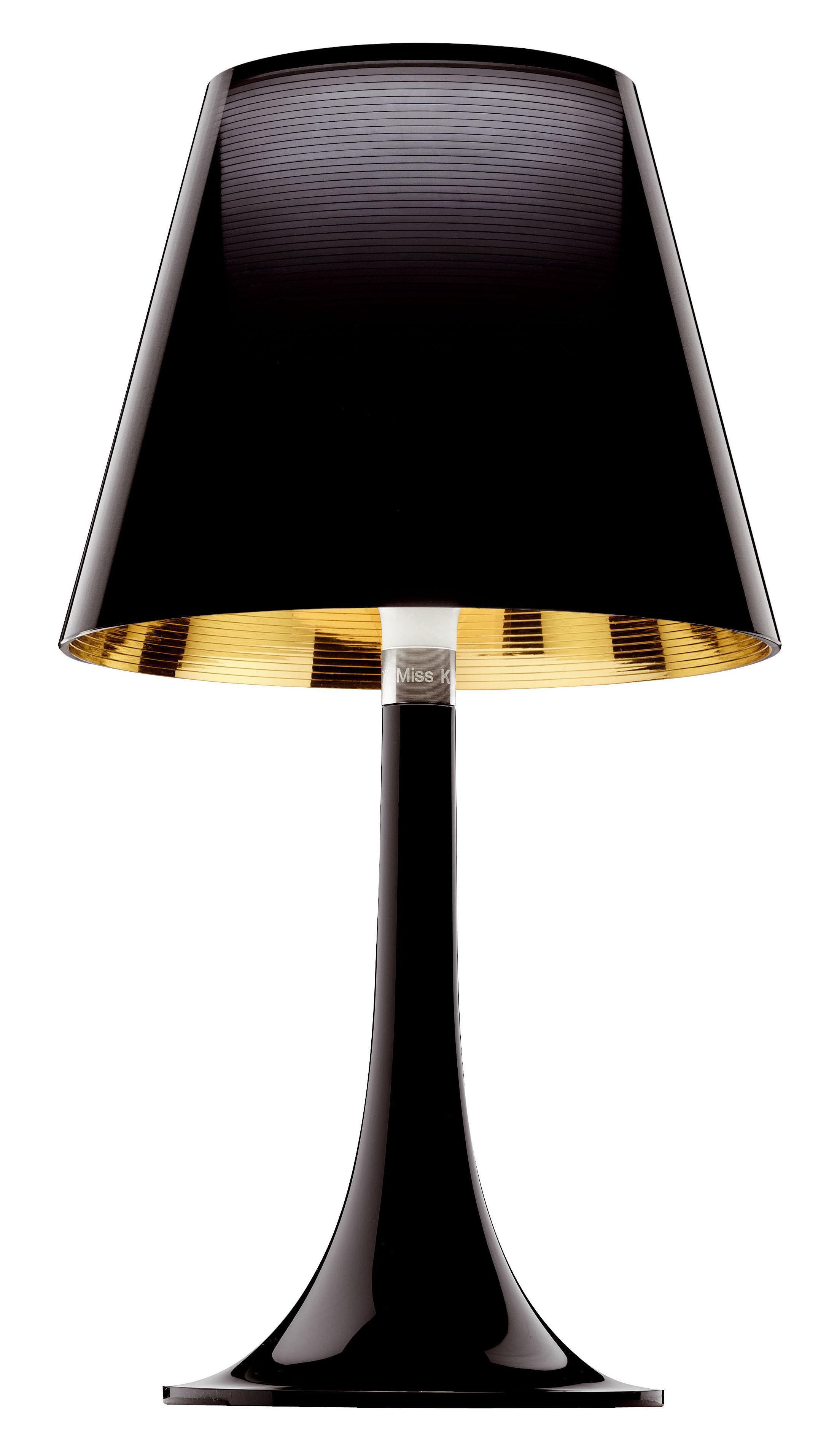 Illuminazione - Lampade da tavolo - Lampada da tavolo Miss K di Flos - Nero - policarbonato