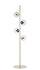 Lampadaire Orb / 4 diffuseurs - H 161,5 cm - Bolia