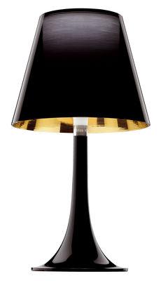 Lampe de table Miss K - Flos noir en matière plastique