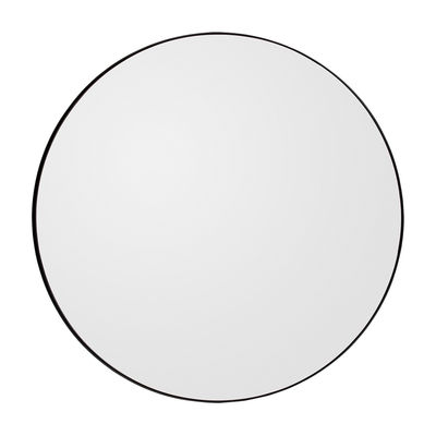Déco - Miroirs - Miroir mural Circum Medium / Ø 90 cm - AYTM - Gris fumé - MDF peint, Verre