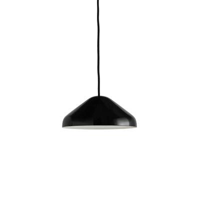Lighting - Pendant Lighting - Pao Small Pendant - / Ø 23cm - Steel by Hay - Black - Powder coated steel