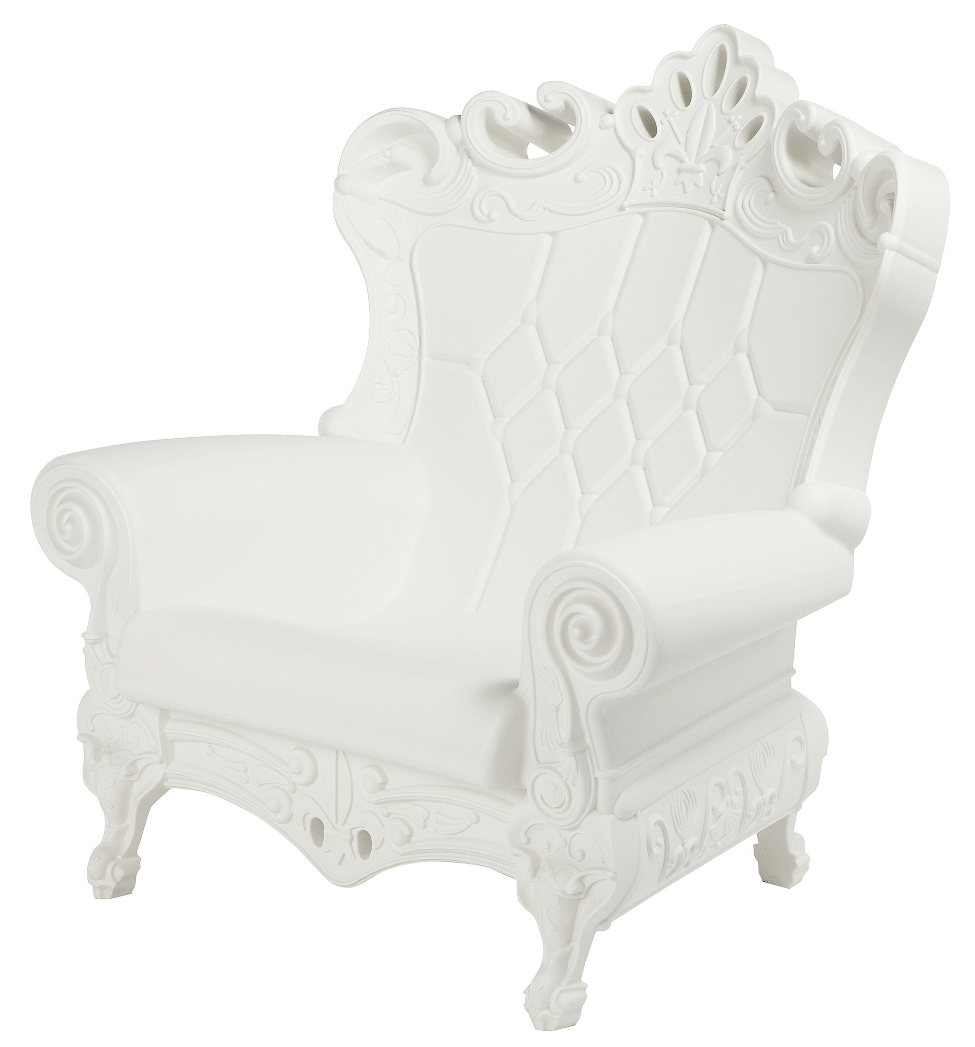 Queen of Love Poltrona - /L 103 cm Bianco by Design of Love by Slide ...