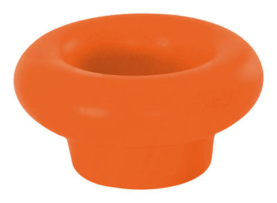 Porte-bouteilles Margarita flottant / Vase - Slide orange en matière plastique