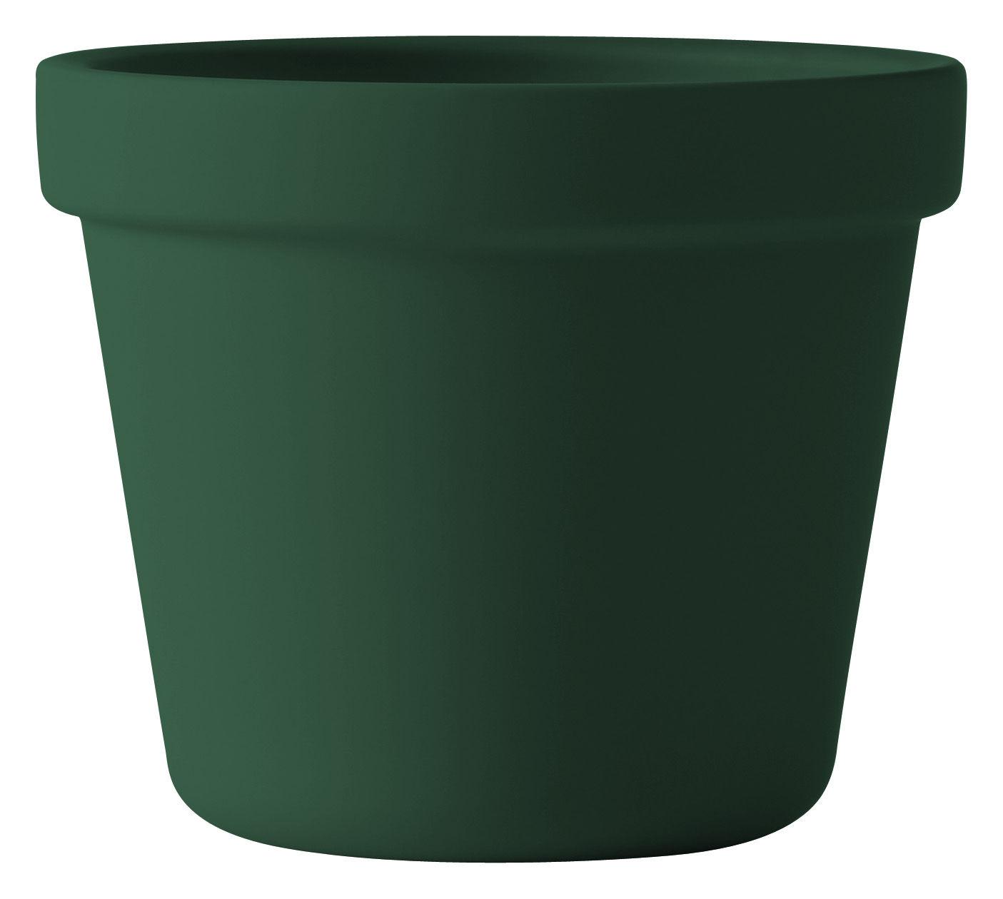 Pot De Fleurs Outside In Muuto Vert O 17 Cm H 14 6 X O 17