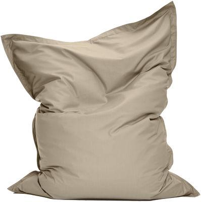 Pouf The Original Outdoor / Pour l'extérieur - Fatboy Larg 140 cm x H 180 cm sable en tissu