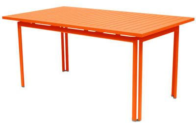Table Costa / 160 x 80 cm - Fermob carotte en métal