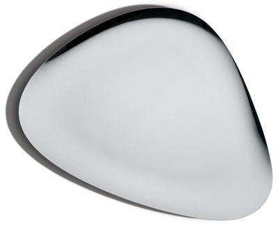 Tischkultur - Tabletts - Colombina Tablett - Alessi - Stahl - polierter rostfreier Stahl