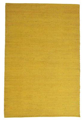 Interni - Tappeti - Tappeto Natural Tatami - / Iuta e lana - 170 x 240 cm di Nanimarquina - Giallo tinta unita - Fibre di iuta, Lana vergine