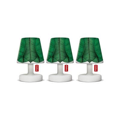 Abat-jour Mini Cappie / Set de 3 - Pour lampes Edison the Mini - Fatboy vert en matière plastique