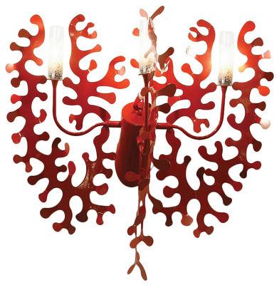 Illuminazione - Lampade da parete - Applique Coral di Lumen Center Italia - Rosso - metallo laccato