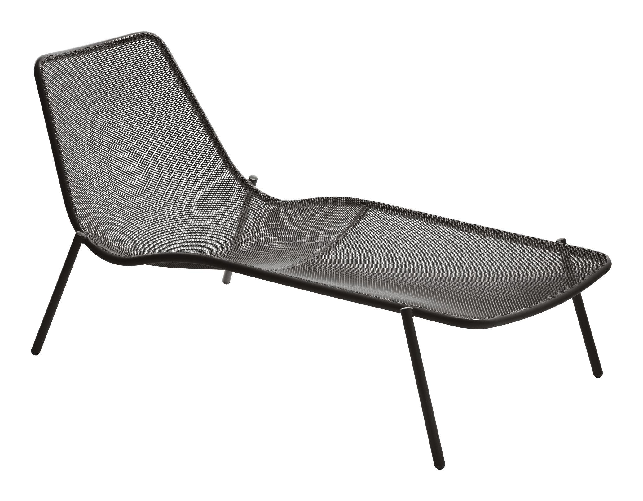 Outdoor - Chaises longues et hamacs - Bain de soleil Round - Emu - Bronze - Acier