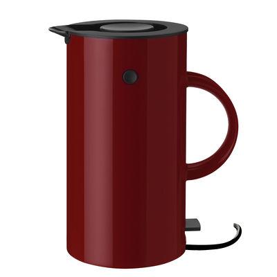 Bouilloire électrique Classic EM77 / 1,5 L - Stelton rouge en matière plastique