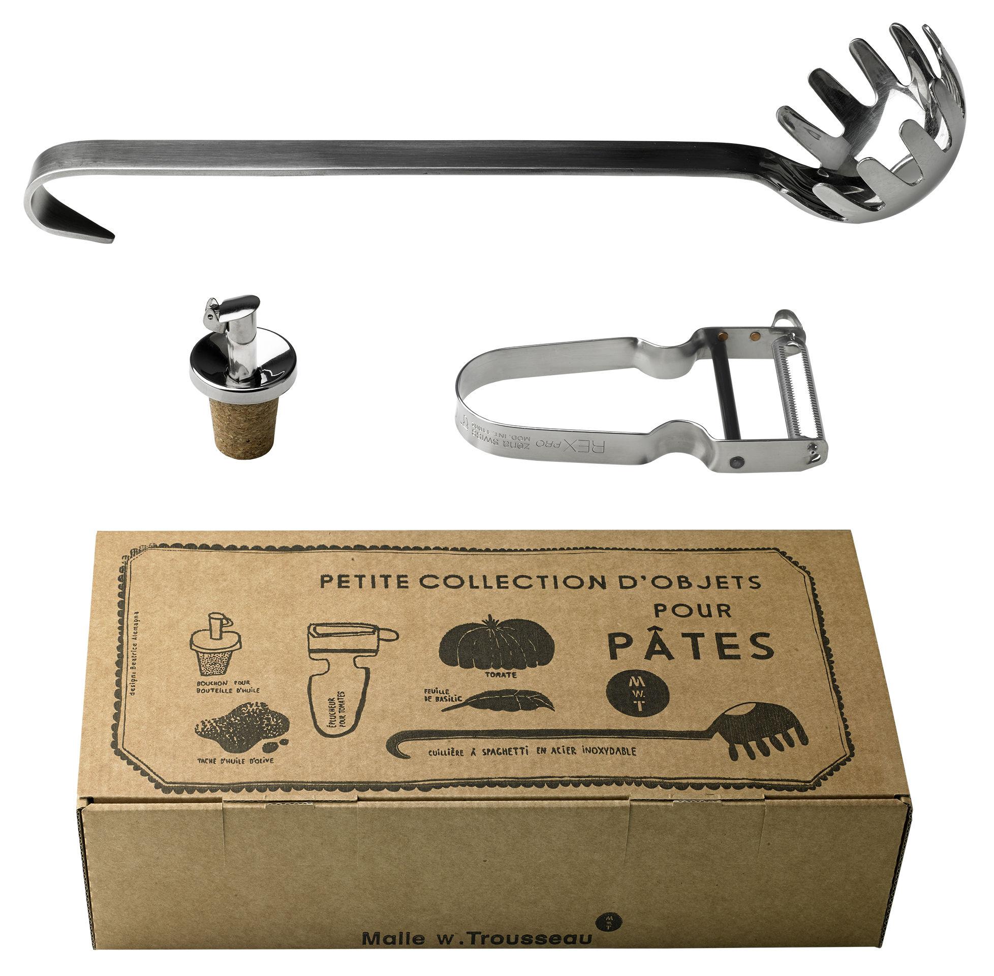Kitchenware - Kitchen Equipment - Box by Malle W. Trousseau - Acier - Cork, Stainless steel