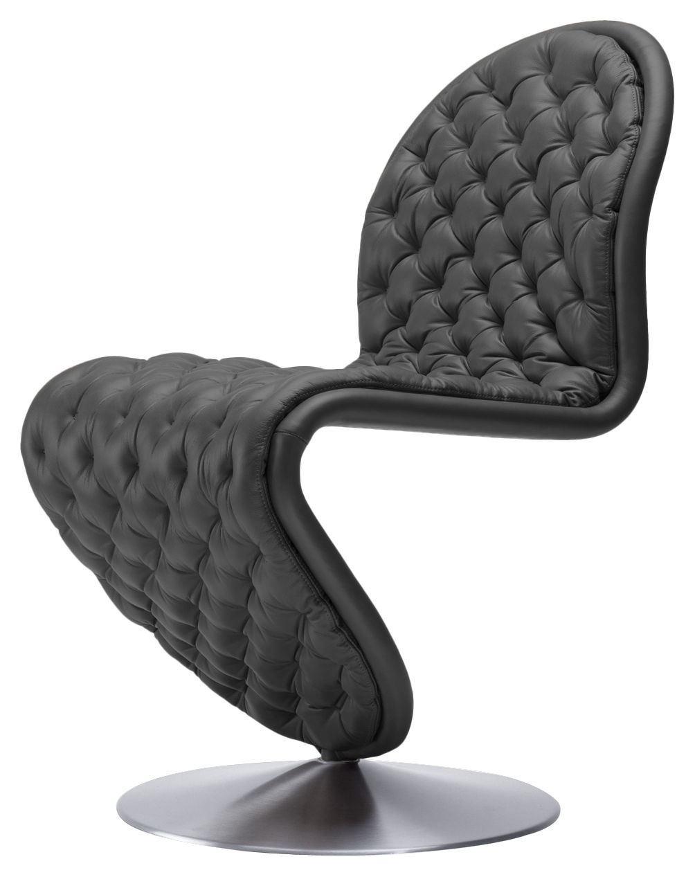 Chaise Rembourre 123 Deluxe Cuir Capitonn