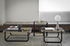 Duet Coffee table - / 45 x 50 cm x H 50 cm - Glass by Wiener GTV Design