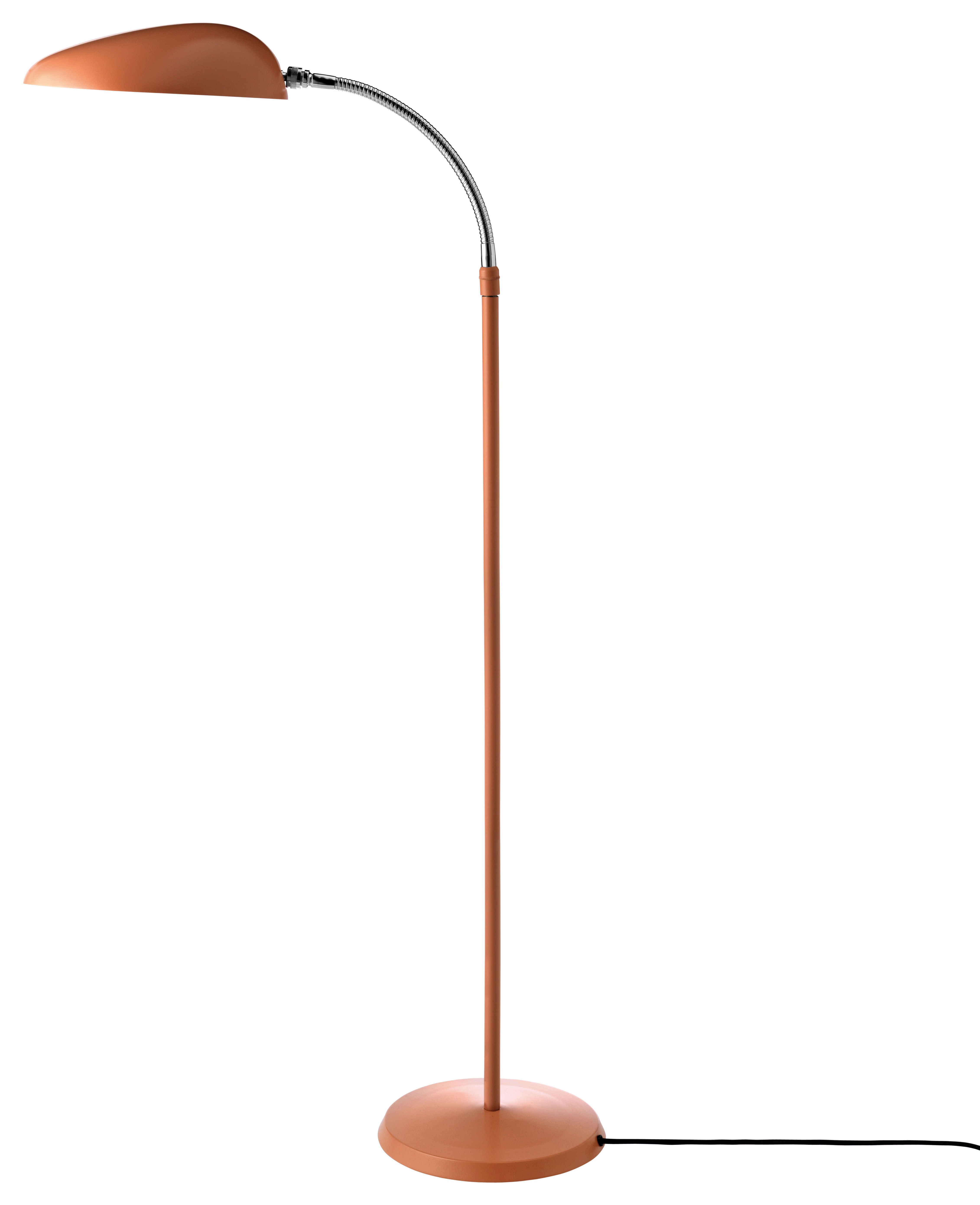 Lighting - Floor lamps - Cobra Floor lamp - Reissue 1949 by Gubi - Old pink - Powder coated steel
