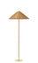 Lampada a stelo 9602 - / Vimini - Riedizione 1935 di Gubi