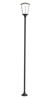 Lampadaire Pharos LED / H 200 cm - Ethimo anthracite en métal