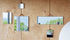 Miroir mural Ruban XS / 8,5 x 8,5 cm - Hay