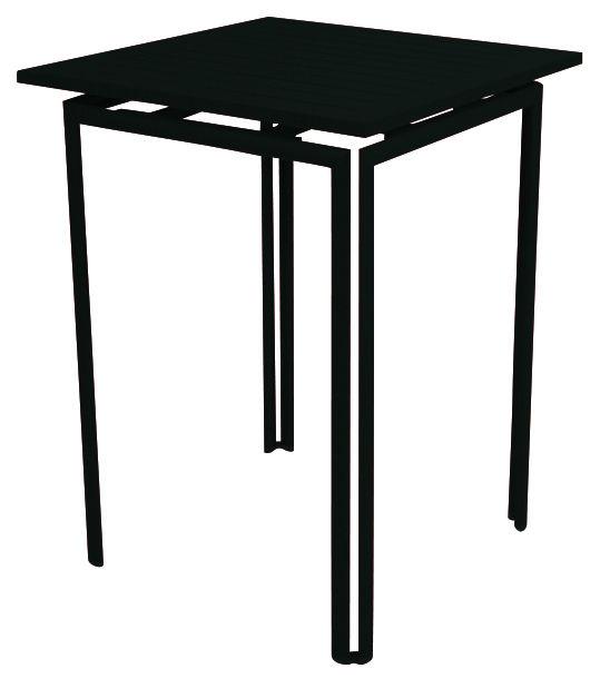 Möbel - Stehtische und Bars - Costa Stehtisch - Fermob - Lakritz - Aluminium