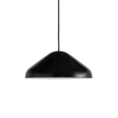 Suspension Pao Medium / Ø 35 cm - Acier - Hay noir en métal