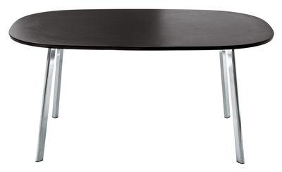 Table Déjà-vu / 160 x 98 cm - Magis wengé en métal