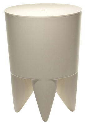 Mobilier - Mobilier Ados - Tabouret New Bubu 1er / Coffre - Plastique - XO - Craie - Polypropylène