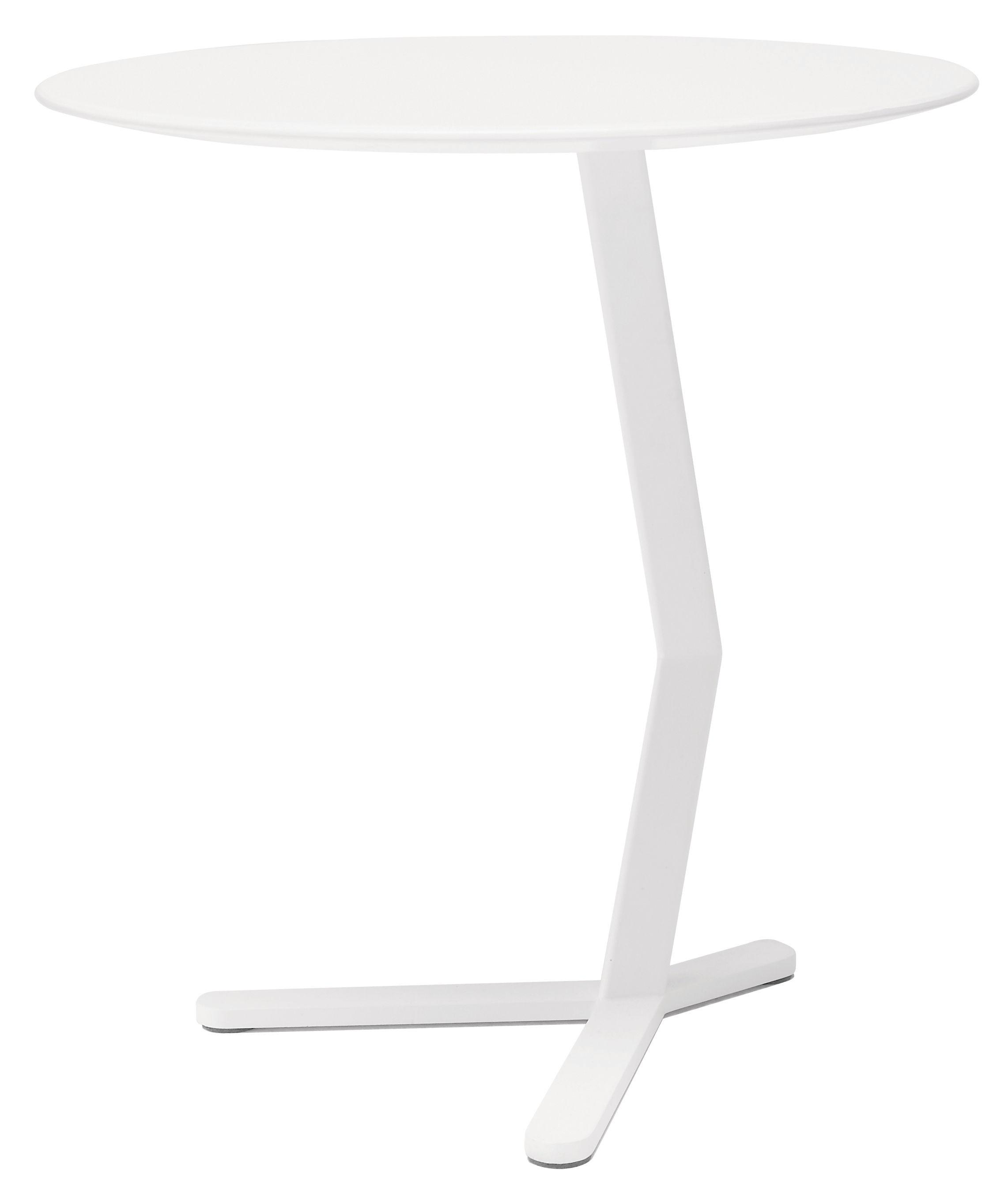Arredamento - Tavolini  - Tavolino Bird di Offecct - Bianco - MDF laccato, metallo laccato