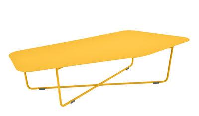 Arredamento - Tavolini  - Tavolino Ultrasofa - / Metallo - 162 x 74 cm di Fermob - Miele - Acciaio verniciato, alluminio verniciato
