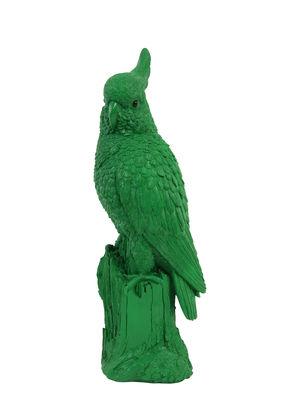 Déco - Pour les enfants - Tirelire Perroquet / H 42 cm - & klevering - Vert - Polyrésine