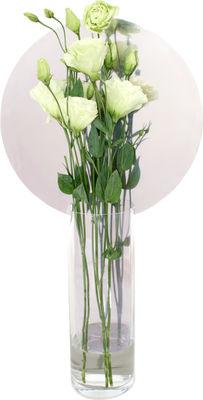 Vase Narciso Cerchio Haut - Petite Friture transparent en verre