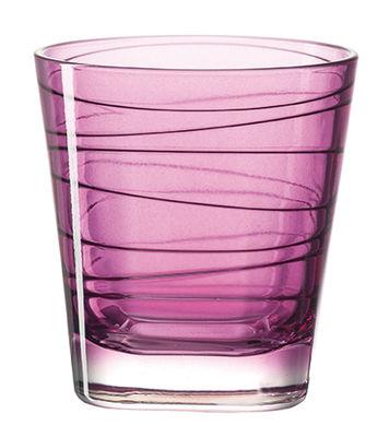 Verre à whisky Vario / H 9 cm - Leonardo violet en verre