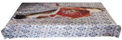 Tischkultur - Tischdecken und -servietten - Toiletpaper - Poisson Wachstuch-Tischdecke / 210 x 140 cm - Seletti - Fisch - Wachstuch