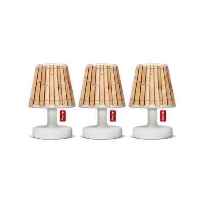 Abat-jour Mini Cappie / Set de 3 - Pour lampes Edison the Mini - Fatboy marron en matière plastique