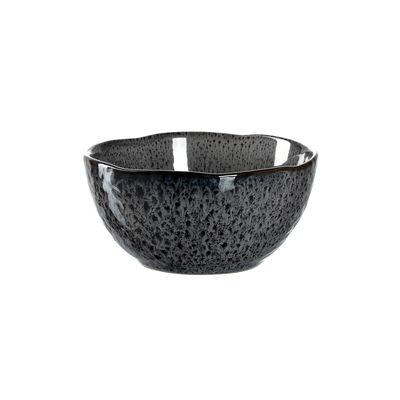 Arts de la table - Saladiers, coupes et bols - Bol Matera / Grès - Ø 12 cm - Leonardo - Anthracite - Grès émaillé