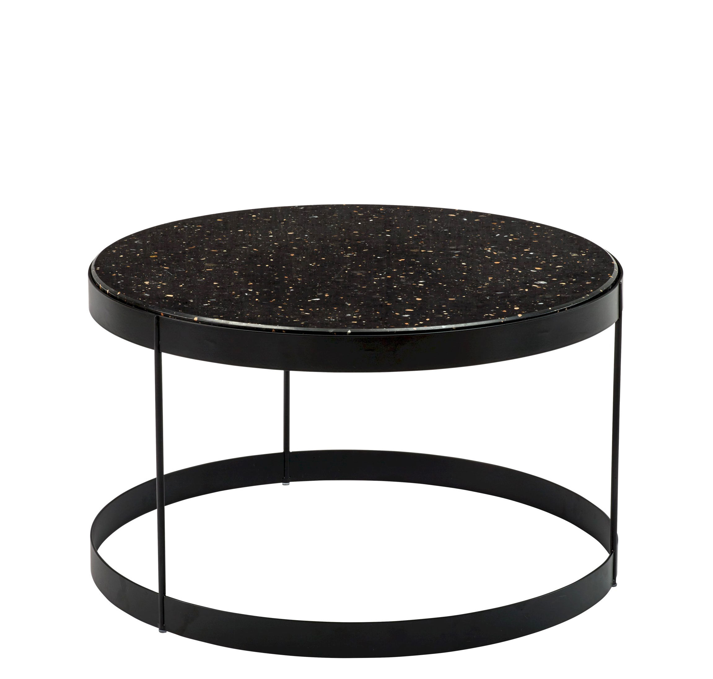 Round 3 Round Coffee Table Made Of Metal Cm ø80x23h: Coffee Table Drum By Bolia